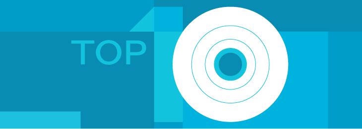 TOP 10 características de proteccion de datos y de puesto de trabajo, de acuerdo con nuestros clientes
