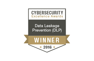 Endpoint Protector 4 es Ganador en la categoría Data Leakage Prevention en Cybersecurity Excellence Awards 2016