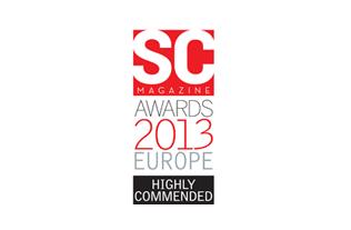 Endpoint Protector ganó el premio Altamente Recomendado en la categoría Mejor Solución para la Prevención de Fuga de Datos (DLP) en SC Magazine Awards UK 2013