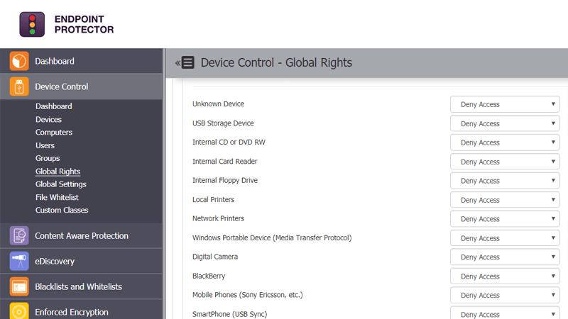 Device Control